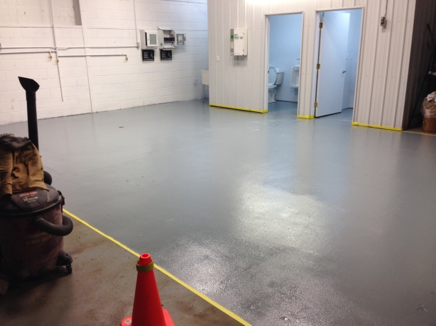 AFTER ~ Epoxy floor system for commercial project