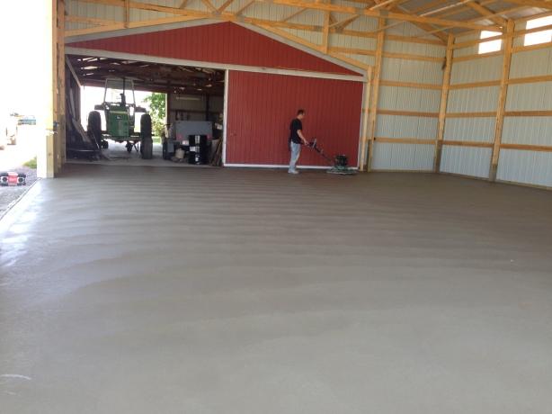 Pole Barn Floor