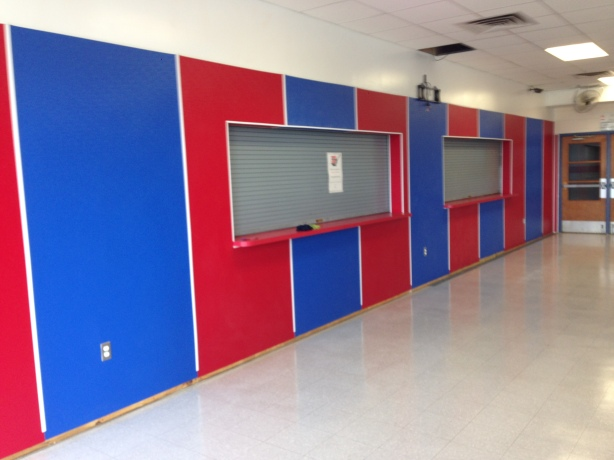 PHHS Custom Paneling Installation After
