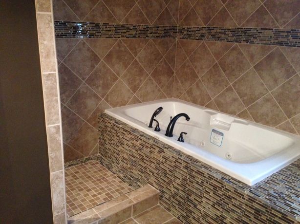 Custom Tile Master Tub