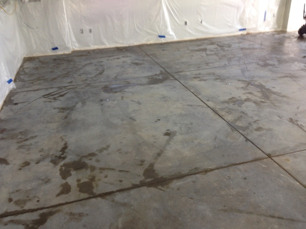 Epoxy Floor Before