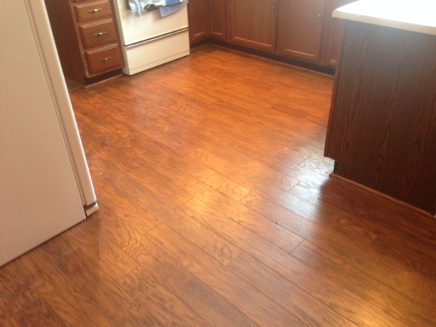 New Kitchen Flooring